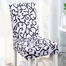 Free Shipping 1PC Fancy Floral Printed Stool Cover Kitchen Dining Slip Cover for Home Hotel Restaurant Decor Spandex Chair Cover