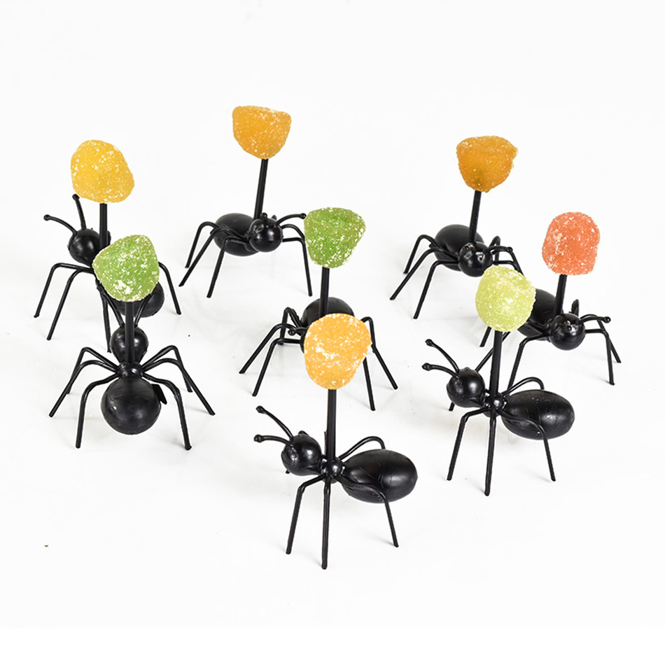 12pcs-Animal-Farm-Ant-Fruit-Fork-Mini-Cartoon-Children-Snack-Cake-Dessert--Fruit-Pick-Toothpick