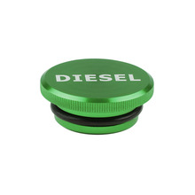 Free shipping  Aluminum Fuel Cap Magnetic Truck Permanent Cap for 2013-2017 Dodge Ram Diesel