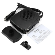 12V Auto Car Heater Heating Fan with Swing-out Handle Driving Enthusiasts Car-Styling Defroster Demister