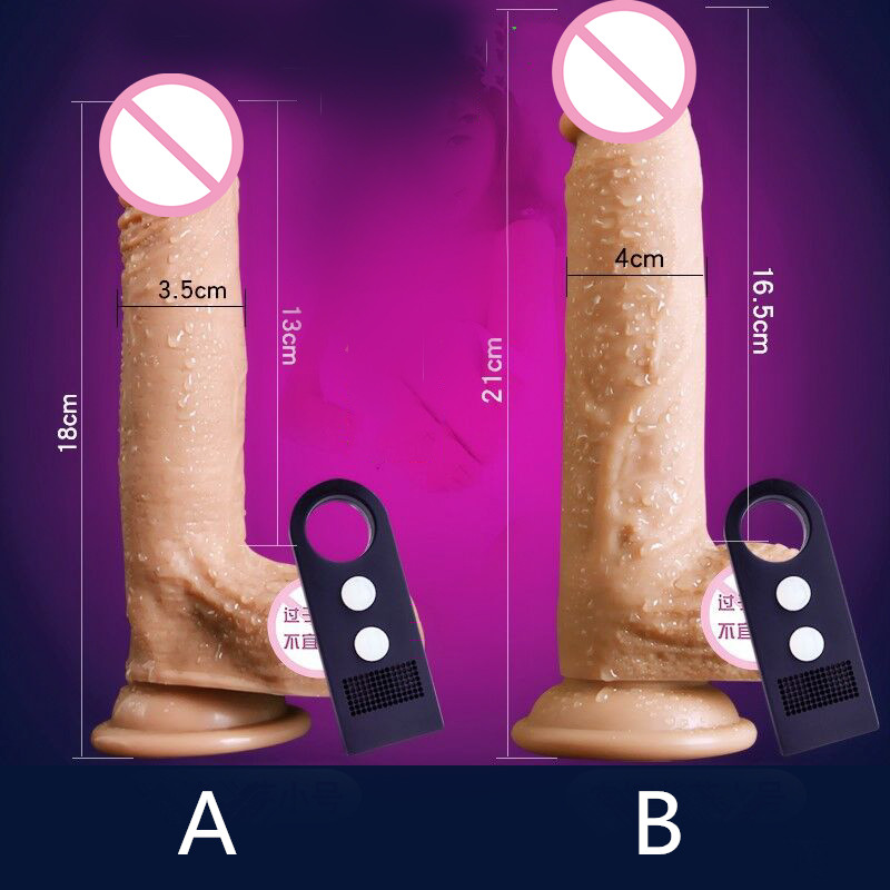 Silicone Vibration Dildo Realistic Suction Cup Big Dildo Male Artificial Penis Dick Women Masturbator Adult Sex Toys For Women.<br>