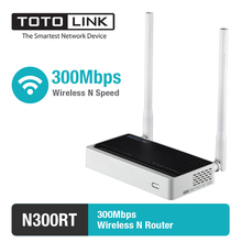 TOTOLINK N300RT 300Mbps WiFi Router / WiFi Repeater/Access Point Supports VLAN IPTV, with English and Russia Firmware(China)