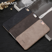 For iphone 6 Case Cover USAMS Bob Series Leather Case Luxury Soft 4.7 Inch Phone cases for iphone 6s case(China)