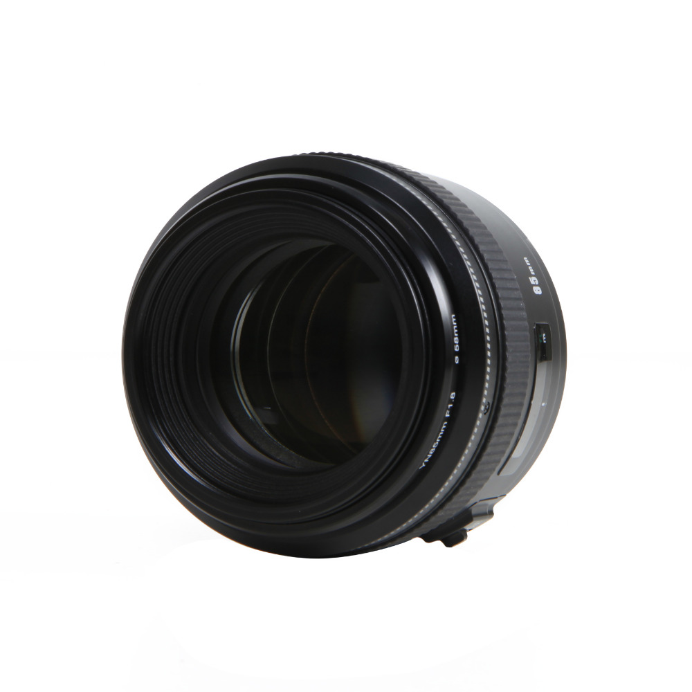 Yongnuo 85mm f1.8 prime Lens for Canon EOS EF Mount SLR Cameras medium telephoto lens prime Auto focus and Manual focus Lenses Camers (1)
