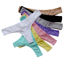Underwear Women Plus Size Sexy Cotton Thong Seamless Panties Women Thongs and G-String Lingerie Tanga Sexy Calcinha Bragas Mujer