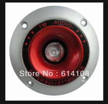 Free Shipping/High Dome Tweeter,Tweeter Speakr,Speaker Driver Unit with Light,Super Bullet Tweeter