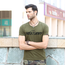 New Design Summer T Shirts For Men Printing Letters Simple Plain Tshirt Casual Army Tops Tees Brand Men's Clothing Ms-6292A