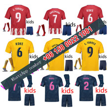 2017 2018 Atletico Madrided kids jersey 17 18 Home Away football camisetas Thai AAA shirt survetement football Soccer jersey(China)