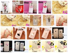 Clear Crystal Diamond PC phone Cases For Huawei Y3 II Y5 Y560 Y5 II Y550 Y6 Pro Enjoy 5 Rhinestone Cell Phone