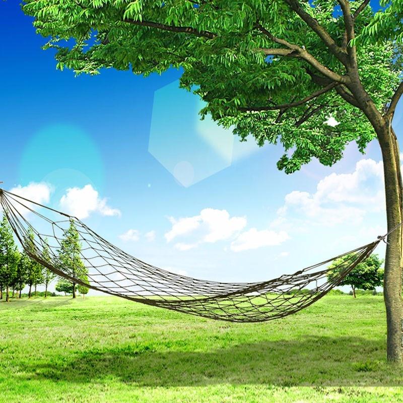 Portable Travel Outdoor Camping Hang Hammock Mesh Net nylon Sleeping Bed Sleeping Hammock Rede De Dormir<br><br>Aliexpress