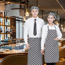 Unisex Striped Coffee Shop Waiter Cooking Baking Aprons Catering Home House Kitchen Apron Aprons with 1 Pockets for Chefs(China)