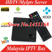 Quad Core Android 4.4 IPTV TV box singaporMalaysia IPTV Box Ast HD Channel HDTV MyIptv account APK 1/3/6/12 months Media Player