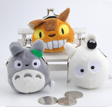 3Models TOTORO - 7CM Delicate Plush Stuffed Toy Doll , with Keychain Plush Toy(China)