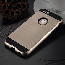 2 in 1 Brushed Slim Armor Neo Hybrid Case Capa Fundas for iPhone X 8 7 plus 7 6s 6 plus 6s 6 5s 5 SE 4s 4 Slim Fit Armor Case