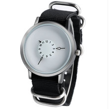 PAIDU Men Watches Black Nylon Band Strap Luxury Quartz Women Watch Stainless Steel Turntable Casual Sport Clock For Gift
