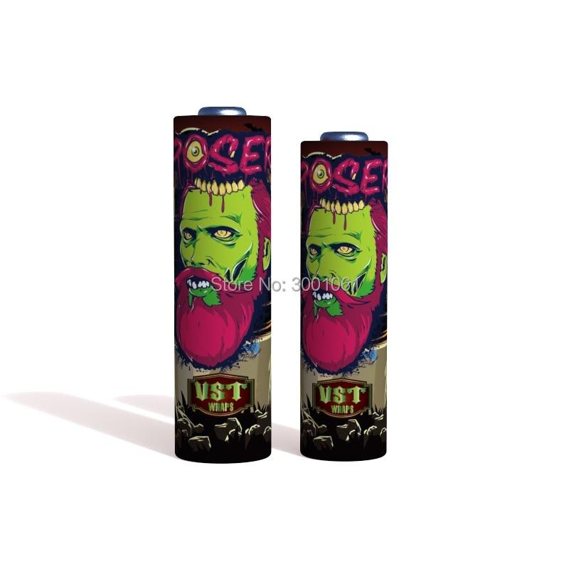 Zombie battery wraps (3)