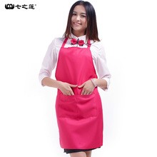 2017 Women Kitchen Home  Customized Apron Cooking Aprons Funny Coffee Restaurant Apron Hotel  tablier femme free shipping