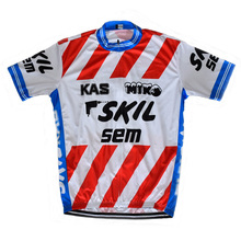 Wholesale classic pro brand Cycling jersey Men Short sleeve Retro Cycling clothing Outdoor sports Triathlon team Jersey ciclismo(China)