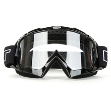 Motocross Goggles Super Motorcycle Bike ATV Motocross Ski Snowboard Off-road Goggles FITS OVER GLASSES Protective Gear Eye Lens