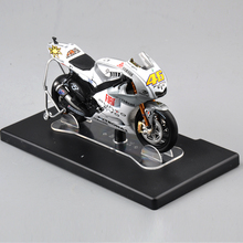 1:18 Valentino Rossi Yamaha YZR-M1 46# Estoril 2009 Motorcycle Model Kids Collectible Racing Bike Diecast Gift