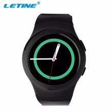 2016 New LETINE G3 Smartwatch Bluetooth Smart Men Sport Watch for Android IOS Phone Support SIM/TF Card Heart Rate Monitor