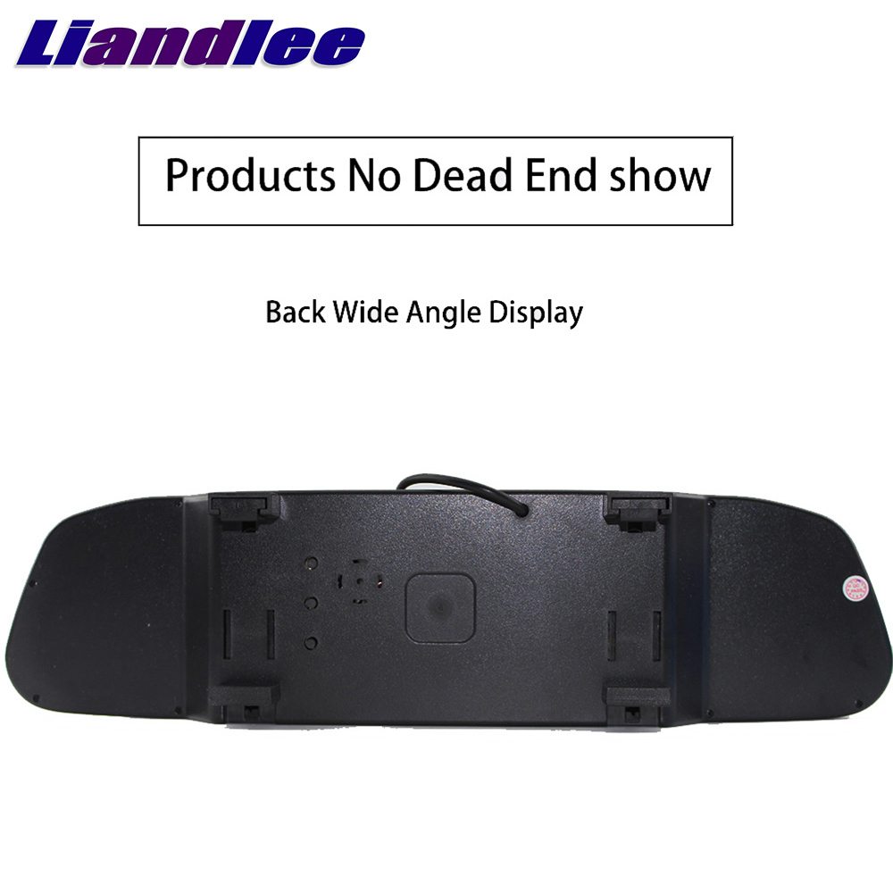 Liandlee 4.3inch Universal HD Car Rearview Mirror Display LCD Digital DVD VCD Car Rearview Mirror Display Monitor video input (1)