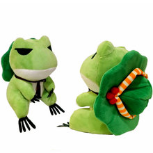 Buy Cute Travel frog Japan game action figure doll frogs Hat stuffed plush toy gift toy children Birthday gift toy Boys for $8.99 in AliExpress store
