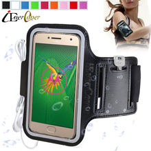 Sport Arm Band Running Case for Motorola Moto M / X Style / X Play / G4 G5 Plus / Z Force Gym Waterproof PU Leather Phone Cover(China)