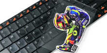 new motocross VR 46 decals MOTO gp rossi 46 stickers fans bow helmet stickers racing motorcycle sticker ATV(China)