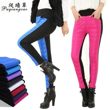 New 2016 Women's Pants Warm Soft Slim Women's Winter Trousers Fashion Female Outer Wear Skinny Pants High Quality M-2XL