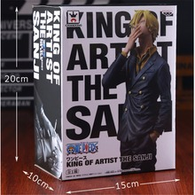 [PCMOS] Japanese Anime One Piece King of Artist KOA The Sanji 26cm/10inch PVC Figure Model Toy Collection New In Box 9017