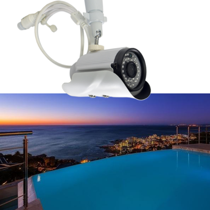 Seven Promise Hd 1.3MP 960p Ip Camera 36pcs Light Outdoor Waterproof Detect Surveillance Video Home Security Cctv Night Vision<br>
