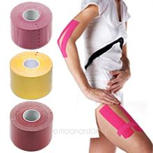 5m x 5 cm Exercise Therapy Bandage Sports Protective Tape Muscle Care Tape Muscle Bandage Strain Injury Support 6 Colors