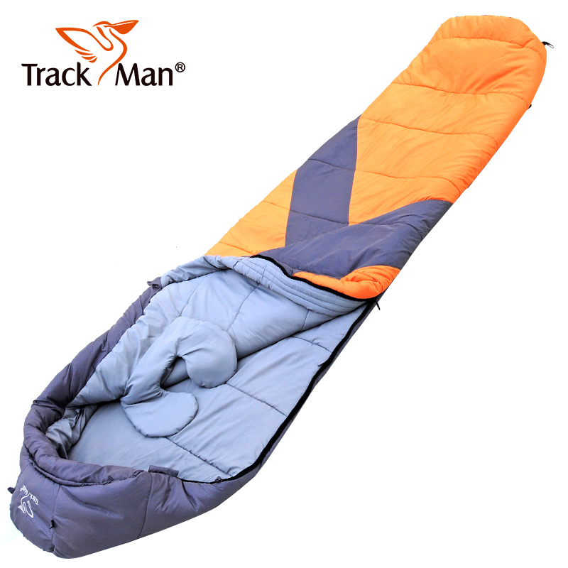 4-5 Season Adult Waterproof Envelope Outdoor Sleeping Bag Camping Hiking Case
