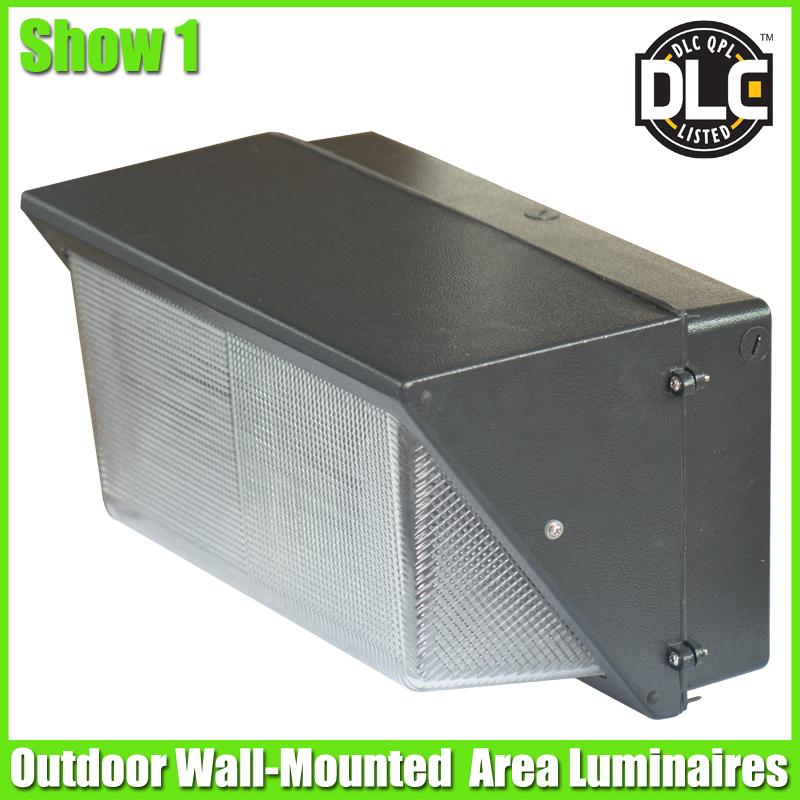 ETL & DLC Wall Mount Outdoor LED Wall pack Light