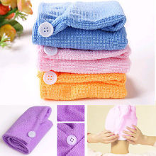 Microfiber Hair Wrap Towel Drying Bath Spa Head Cap Turban Wrap Twist Dry Shower