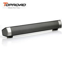 TOPROAD 10W Powerful Bluetooth Speaker TV Soundbar Altavoz Subwoofer Wireless Speaker Support TF Handfree For Phone Computer(China)