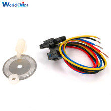Photoelectric Speed Sensor Encoder Coded Disc Code Wheel For Freescale Smart Car 5V(China)