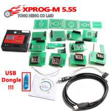 DHL Free Newest X Prog-M Xprog m V5.55 ECU Chip Tunning Programmer X Prog M Box 5.55 XPROG-M Better Than 5.50 Xprogm 5.55