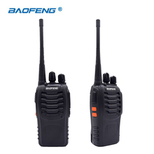 2PCS Walkie Talkie Baofeng BF-888S 16CH UHF 400-470MHz Baofeng 888S Ham Radio HF Transceiver Amador Portable(China)
