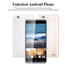 "Unlocked 5.5"" Smartphone 4Core AT&T T-Mobile 3G 4GB 2SIM Android Cell Phone 17Nove6(China)"