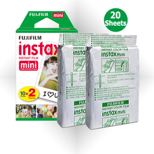 For Fujifilm Instax Mini 7s 8 9 25 50s 70 90 Film Fuji Instant Camera, 20 Photos Prints Mini White Edge Pictures Papers(Hong Kong)