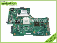 V000218030 1310A2332304 Laptop Motherboard for Toshiba Satellite L650 Intel Motherboard HM55 ATI HD45000 graphics