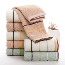 1pc Hand Face Towel Soft Cotton Absorbent Towels Bath Beach 33*75CM Face Sheet Towels Home Textiles(China)