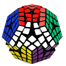 4*4*12 Megaminx Magic Cube Professional Speed Game Cube Puzzle 4x4x12 Black Red White(China)