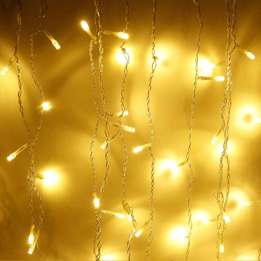 LED Curtain Icicle String Fairy Light 3-24M LED Christmas Garland Indoor Outdoor Party Garden Stage Decorative Lights 110V 220V (26)