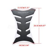 Carbon Fiber Motorcycle 3D Fuel Tank Decal Pad Protector Gas Cap Sticker Cover Sticker for Yamaha Honda Suzuki Kawasaki Ducati