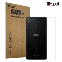 FOR SONY Z4 0.26mm 9H 2.5D Retail Box Back Tempered Glass For Sony Xperia Z4 E6533 E6553 Premium Screen Protector Film