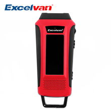 Excelvan HY-016 Hand Crank LCD Display FM/AM/WB Radio Recharging LED Flashlight Survival Solar Radio Power Bank For Outdoors