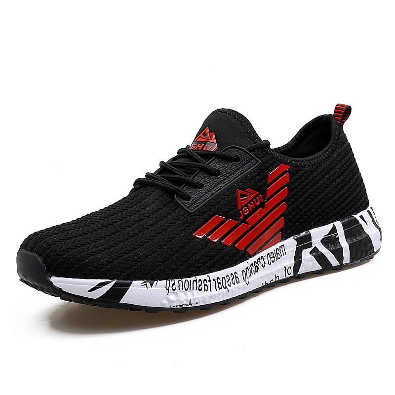 Superstar  Trainers Mens Flat Shoes Walking Casual Soft Breathable Mesh Zapatillas Deportivas Spring Lace-up 2017 Men Shoes<br><br>Aliexpress